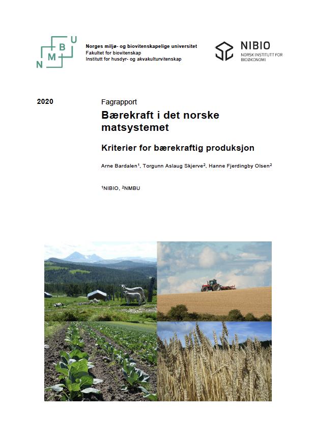 Bærekraft I Norske Matsystemer