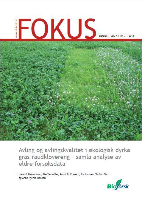 Fokusrapport Nr 7 2014