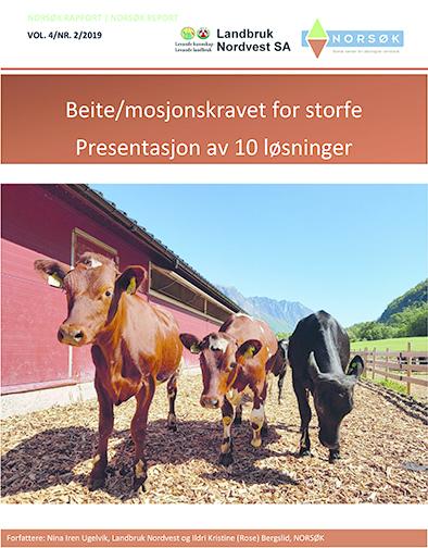 Norsø K Rapport 2 2019 Beite Mosjonskravet For Melkeku