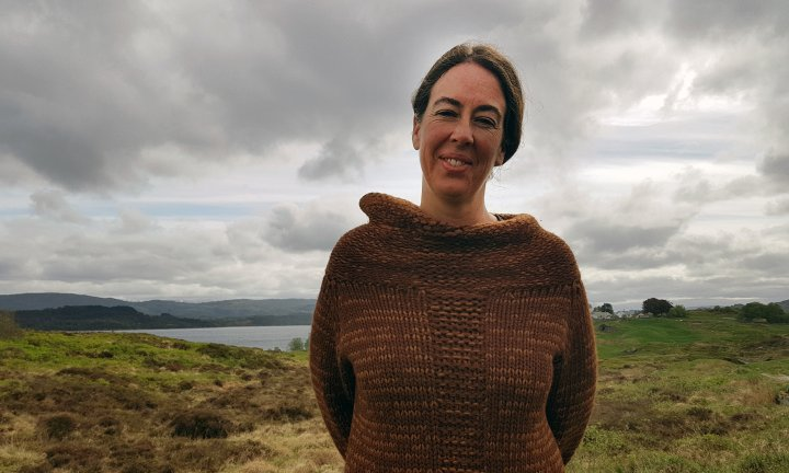 Rebecca Burgess er opptatt av sammenhengen mellom landbruk og klær. Foto: Rose Bergslid