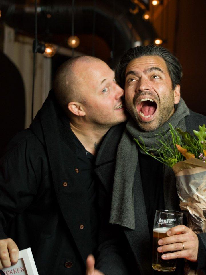 Årets kjøkken: Fredrik Saroea  og Christopger Haatuft . Foto: Joachim Sollerman