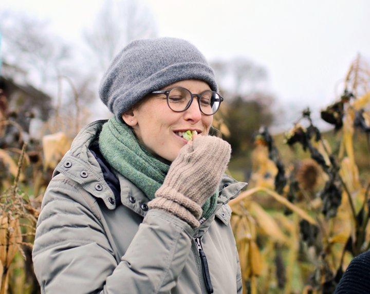 Marte von Krogh håper at de skal nå  målet om at halvparten av all maten som kjøpes inn i Oslo skal være økologisk. Foto: Debio