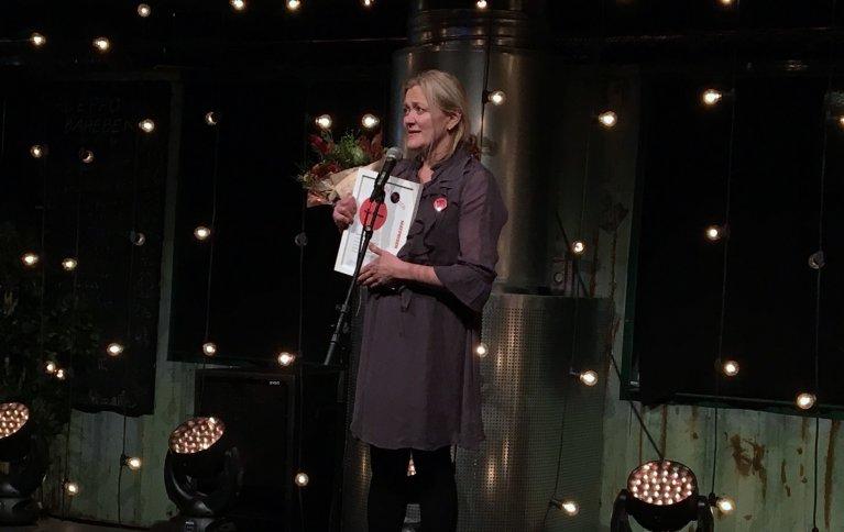 Heidi Bjerkan fikk Matprisen 2017. Foto: Anita Land