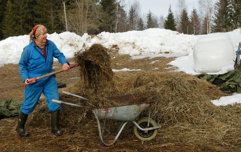 Helen Davey er gårdbruker og styremedlem i wwoof Norge, som formidler praktikanter i det økologiske landbruket. Hun håper at flere som er interessert hopper i det og prøver ut gårdslivet i sommer.