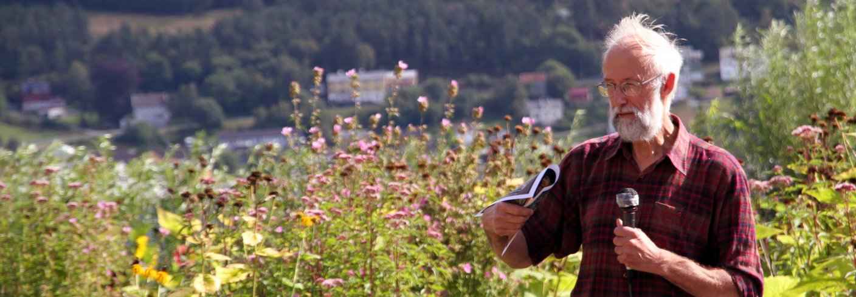 Stephen Barstow er leder for KVANN. Foto: Anita Land