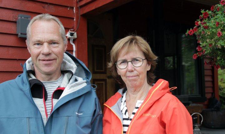 Det er mange muligheter på småbruka i Norge, mener Arne Handeland og kona Gry. De har funnet sin nisje. . Foto: Anita Land