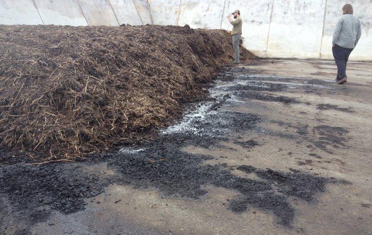 Mikrobiell lagring av karbon ved kompostering uten luft